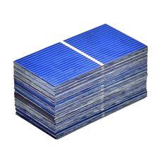 100Pcs Solar Panel Sun Cell Sun Power Solar Cell Diy Solar Battery Charger  I1M8