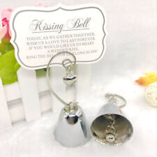 Silver Ringing Kissing Bell Name Place Card Holder Wedding 80pcs.