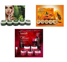 Nutri Glow Natural Facial Kit For Blemish Free Fairer Complexion 250 Gram +10 ml