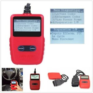 128 x 64 pixel Backlit Display VC309 OBDII/EOBD Code Reader Auto Diagnostic Tool