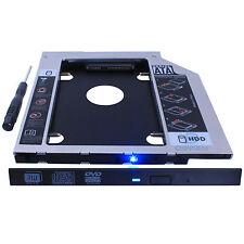 2nd HD SSD Hard Drive Caddy Ultrabay SLIM For Lenovo Y410 Y510P Y510PT Z400 Z500