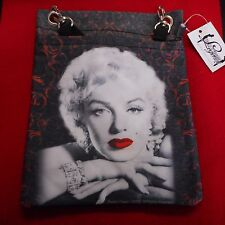 NEW Marilyn Monroe Passport Style Bag