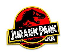 Jurassic Park Jeep Magnets - 2 Removal Movie Decals