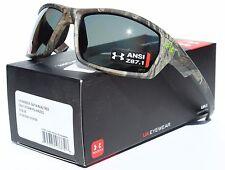 UNDER ARMOUR Ranger POLARIZED Sunglasses Realtree Camo/Gray Storm Hunting NEW