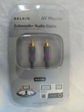 BELKIN PURE AV AM20500-25 Subwoofer Audio Cable - 25 Foot - New
