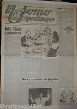 1 ottobre 1947 Qualunquismo e Comunismo Discorso di Giannini Congresso popolo
