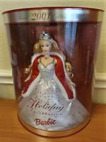 2001 Special Edition Holiday Celebration Barbie NEW IN BOX