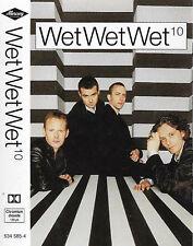 Wet Wet Wet 10 CASSETTE ALBUM Pop Rock, Soft Rock, Ballad