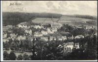 BAD ELSTER Sachsen 1908 Dt. Reich AK Blick zur Kirche alte Postkarte