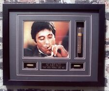 SCARFACE AL PACINO WITH  CIGAR & BULLETS FRAMED 16X20