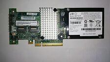 IBM ServeRAID M5015 Raid Controller 6 GBPS SAS SATA L3-25121-56B + Riser card