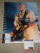 "BILLY CORGAN ""SMASHING PUMPKINS"" SIGNED 11X14 PHOTO psa/dna"