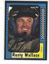 1991 MAXX NASCAR RACING RUSTY WALLACE #2 OF 240