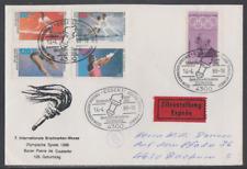 Deutschland 1988 Eilzustellung-Sonderbeleg  7. Internationale Briefmarkenmesse