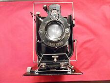 Orix 308 Zeiss Ikon 10 x15 Plattenkamera Objektiv Lens Tessar 4,5/16,5 cm