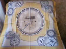 "BMW 34"" Speedometer 100 % Silk Scarf, Made in Italy; NEW"