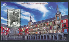 Spain 2018 MNH La Plaza Mayor Madrid Stamp Fair 1v M/S Architecture Stamps