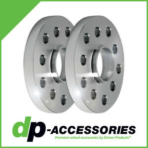 10mm Press-On Hub Centric Wheel Spacers 5x100 5x112 57.1mm - 2 Pack