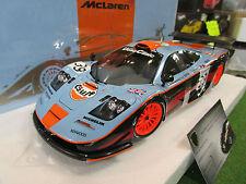 McLAREN F1 GTR GULF #39 LE MANS 1997 SEKIYA 1/18 MINICHAMPS 530133739 voiture