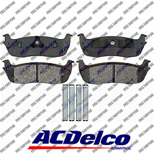 New Rear Disc Brake Pad-Ceramic ACDelco Advantage For Lincoln Blackwood Tow car
