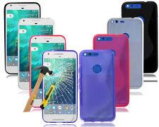 Étuis, housses et coques en silicone, caoutchouc, gel pour téléphone mobile et assistant personnel (PDA) Google