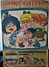 ¡VAMOS A LA CAMA! LA FAMILIA TELERÍN. Álbum cromos completo. Bruguera, 1965.