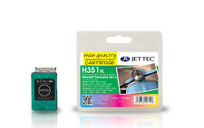 Jet Tec HP351C XL inkjet cartridge high quality replacement for Hewlett Packard