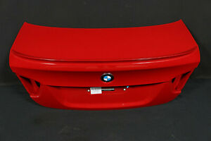 4.327km BMW M3 E90 Soda USA Tailgate Boot Lid Spoiler Rear Flap Red