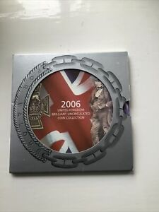 2006 ROYAL MINT UK BRILLIANT UNCIRCULATED 10 COIN COLLECTION SET