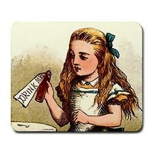 Alice In Wonderland Drink Me Detail Art Computer Mouse Pad Mat Mousepad New