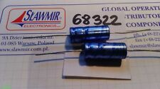 PHILIPS 1000uF16V 10x24 85C Axial Electrolytic Capacitor 2222-02135102 LOT5pcs