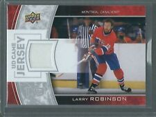 2013-14 UD Series 1 UD Game Jersey Larry Robinson GJ-LR Montreal Canadiens