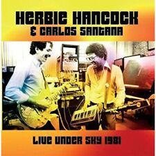 HERBIE HANCOCK & CARLOS SANTANA Live Under The Sky '81 compact disc