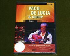 PACO DE LUCIA & GROUP LIVE AT GERMERINGER JAZZTAGE 1996 TDK DVD GUITAR Sealed
