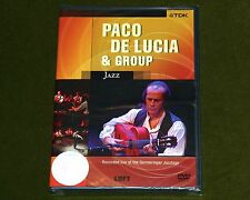 PACO DE LUCIA & GROUP LIVE AT GERMERINGER JAZZTAGE 1996 TDK DVD GUITAR New