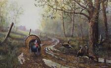 "Jim Hansel ""Spring Fever"" Wild Turkey Print  12"" x 7.75"""