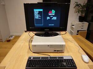 Amiga 4000 040/25 Kick3.1.4 18MB Ram Gotek SD2IDE CDRW Keyboard Mouse SCART VGA