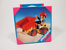 2009 Playmobil 4600 Boy Figure w/ Tipping Tractor NEW In Sealed Box
