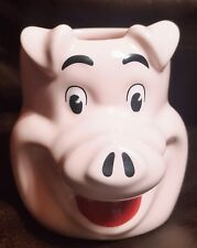 LARGE Hot Hogs Pink Pig Coffee MUG Cup 16 oz Large Oversized Collectors Item