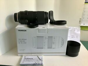 "TAMRON 100-400mm F4.5-6.3Di VC USD Lens For NIKON ""MINT""Reduced"""