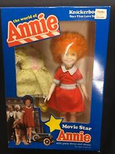 Annie 10� Doll W/Party Dress & Shoes - Boxed 1980's Knickerbocker Toys