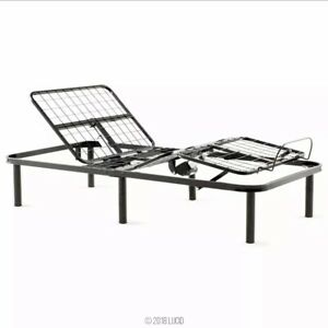 Electric Bed Frame Adjustable Base ONLY Remote Medical Twin XL