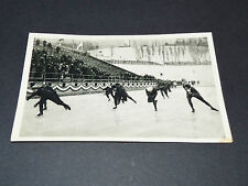 LOS ANGELES 1932 J.O. OLYMPIC GAMES OLYMPIA PATINAGE VITESSE EVENSEN NORGE