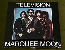 TELEVISION MARQUEE MOON LP *RARE* HEAVY VINYL 180g USA LIMITED PRESSING PUNK New