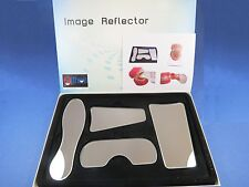 Dental Oral Clinic Mirror Reflector Photographic Glass Kit /4 Pcs ORTHOM
