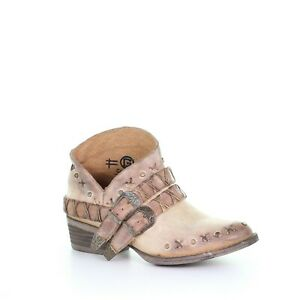 Circle G by Corral Ladies Rose Harness, Studs & Conchos Boots Q5100