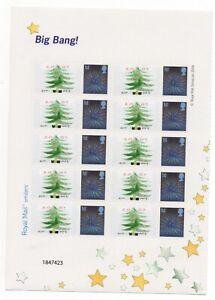 GB 2007 Elm Park Christmas half smiler sheet. MNH VGC (1)