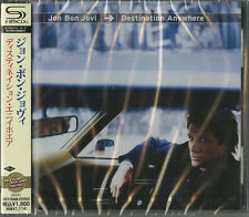 JON BON JOVI-DESTINATION ANYWHERE-JAPAN SHM-CD D50