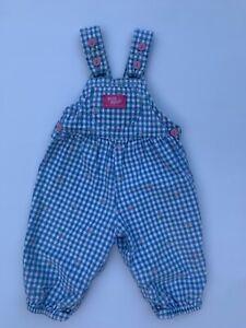 Vintage Oshkosh B'gosh Baby B'gosh 12m girls overalls