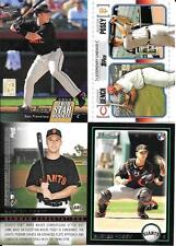 BUSTER POSEY    (4)  NICE ROOKIE CARDS   SAN FRANCISCO GIANTS